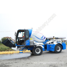 4.0 cubic meters self loading concrete mixer truck